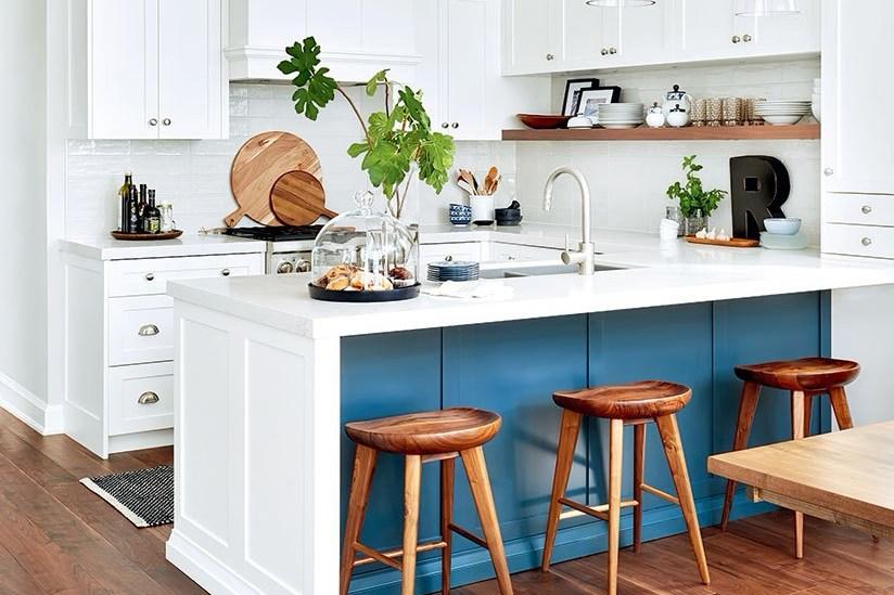 Meja Dapur Tinggi Sekaligus Meja Makan