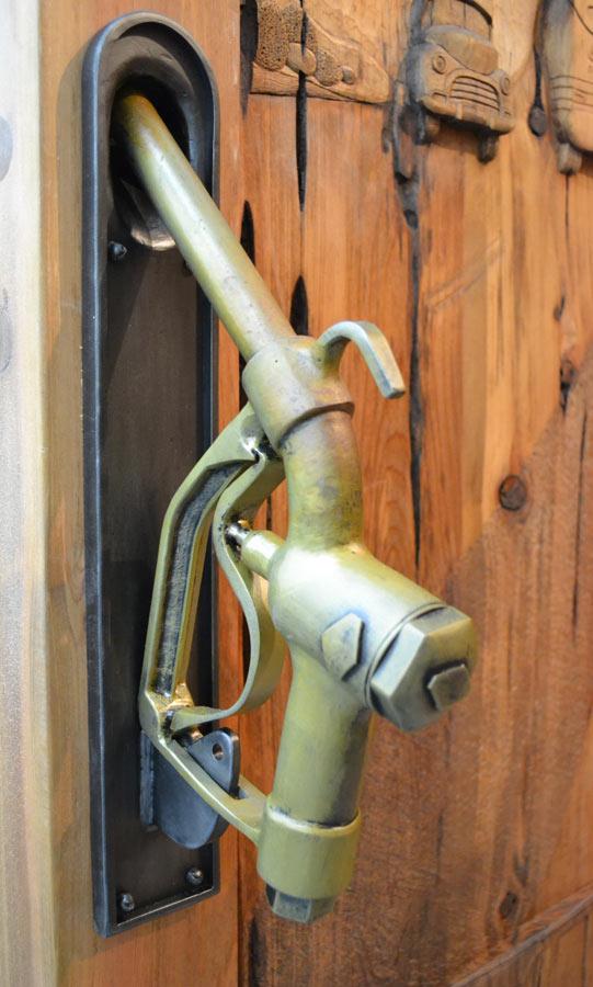 Gagang pintu vintage